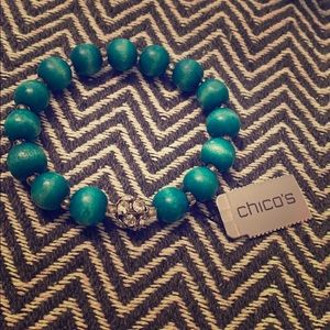Chico's Teal Bracelet